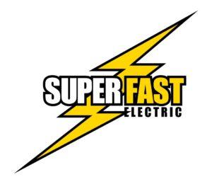 super fast electrician orlando fl logo